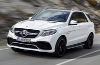 2016 Mercedes-Benz GLE-Class, Front-quarter view, exterior, manufacturer, gallery_worthy