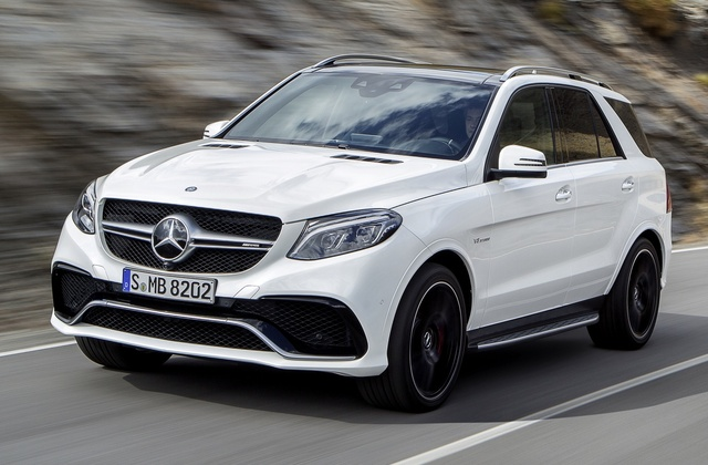 2016 Mercedes-Benz GLE-Class, Front-quarter view, exterior, manufacturer