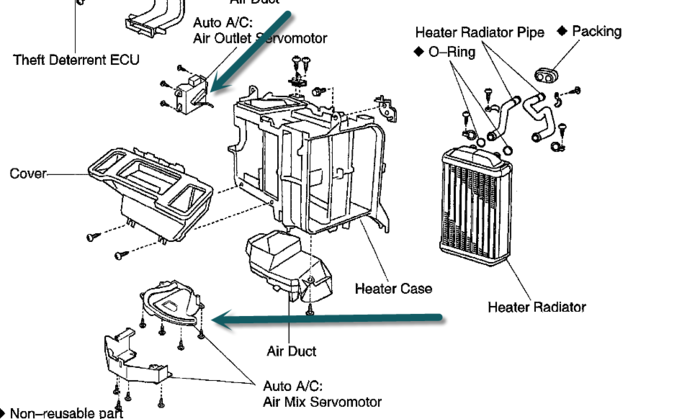 2004 Chrysler Pacifica Heater Diagram on 2006 chrysler 300 cabin air filter location