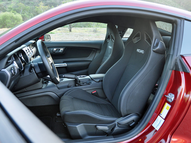 2015 Ford Mustang GT Coupe RWD, 2015 Ford Mustang GT Recaro Seats, interior, gallery_worthy