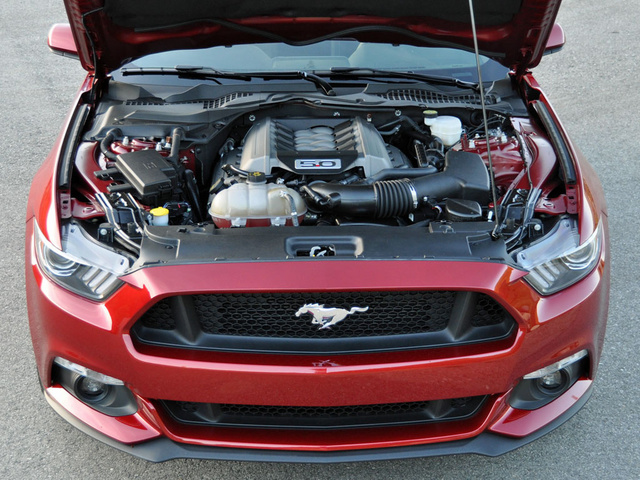2015 Ford Mustang GT 5.0-liter V8 Engine, engine, gallery_worthy