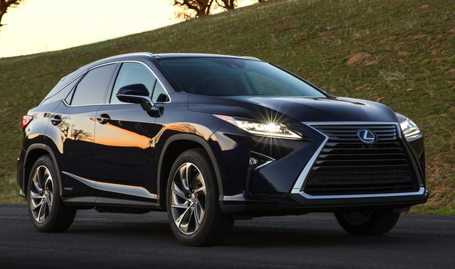 2016 Lexus RX 450h, Front-quarter view, exterior, manufacturer, gallery_worthy