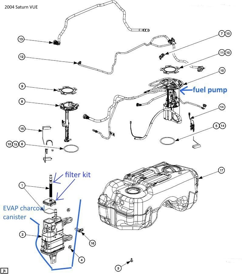 2004 saturn vue fuel filter location free engine - wiring diagrams image free