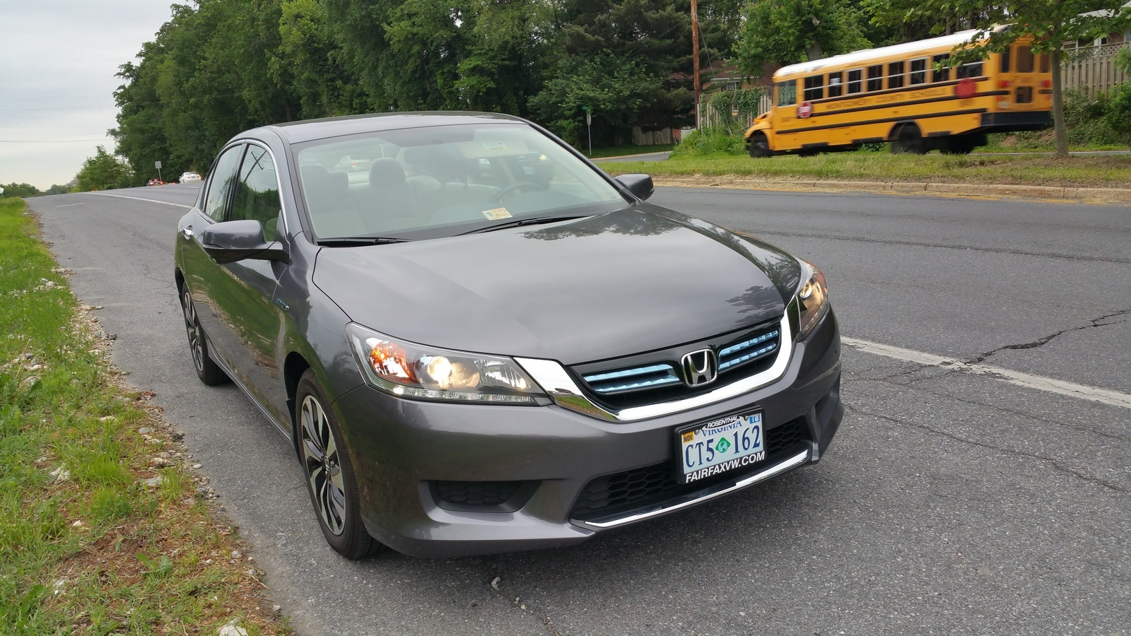 Picture of 2015 Honda Accord Hybrid Base