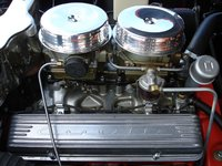 Picture of 1957 Chevrolet Corvette Convertible Roadster, engine, gallery_worthy