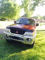 Picture of 2000 Mitsubishi Montero Sport XLS 4WD, exterior