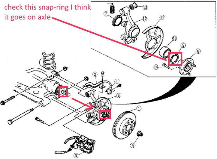 Mazda Mx5 Miata Questions My 1999 Was A Rear Axle Sticking Rhcargurus: 1999 Mazda Miata Engine Diagram At Gmaili.net