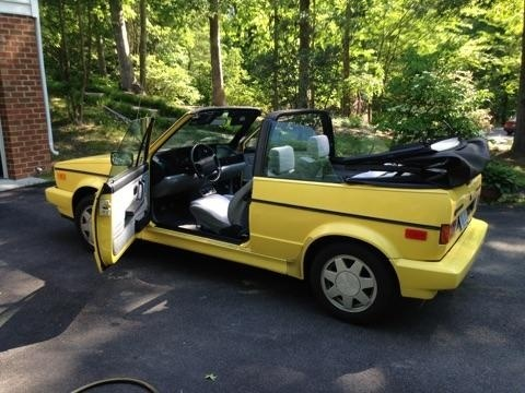 Picture of 1990 Volkswagen Cabriolet