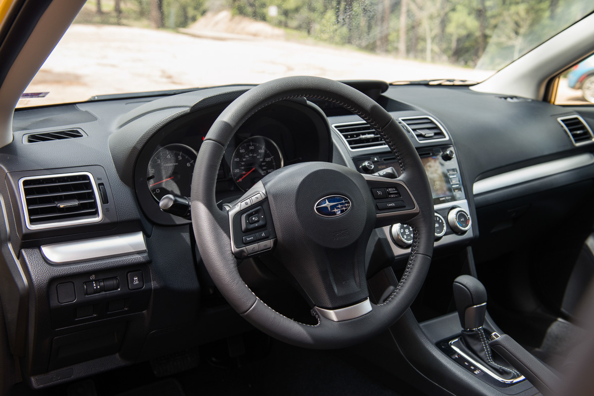 picture of 2015 subaru xv crosstrek interior. Black Bedroom Furniture Sets. Home Design Ideas