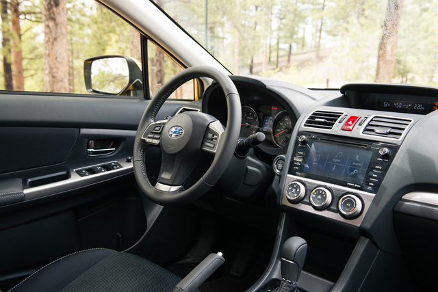 Picture of 2015 Subaru XV Crosstrek, interior, gallery_worthy