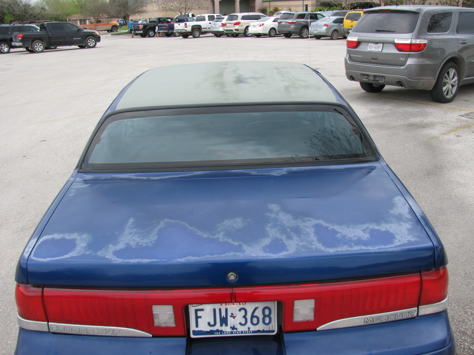 Picture of 1994 Mercury Cougar 2 Dr XR7 Coupe