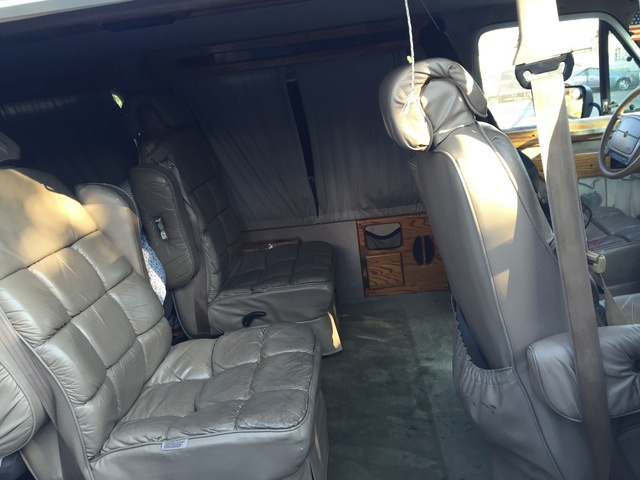 Dodge Ram Van Dr Maxi Cargo Van Extended Pic X on 1989 Dodge Grand Caravan