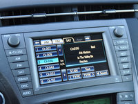 2015 Toyota Prius Five radio display, interior