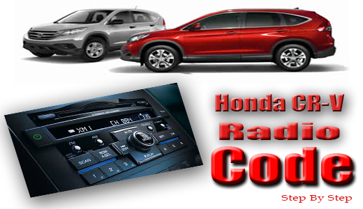 Honda CR-V Questions - How a i found radio code - CarGurus