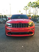 Picture of 2015 Jeep Grand Cherokee SRT Red Vapor Edition, exterior