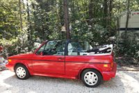 1993 Volkswagen Cabriolet Classic, Cream Puff only 104500, exterior