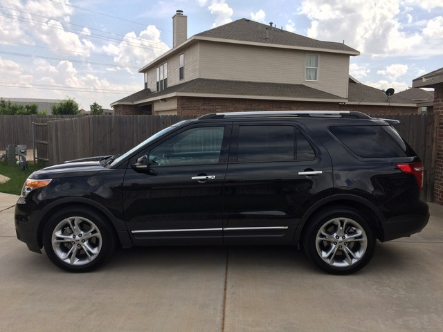picture of 2014 ford explorer limited exterior. Cars Review. Best American Auto & Cars Review