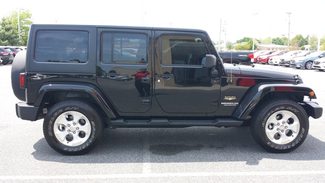 picture of 2014 jeep wrangler unlimited sahara exterior. Cars Review. Best American Auto & Cars Review