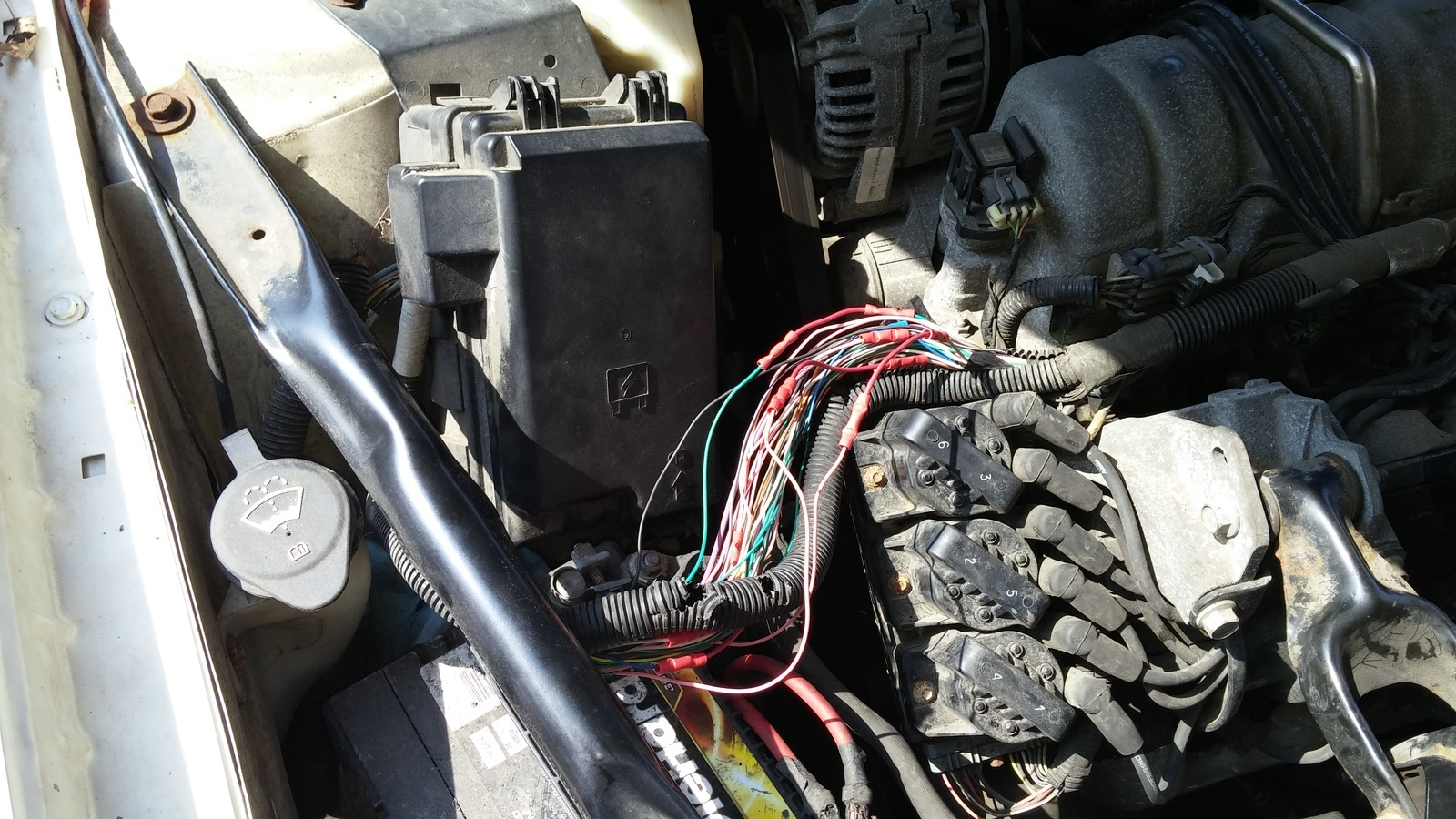 Pontiac Grand Prix Questions Radiator Fan Doesnt Work When Engine Wiring Up A Relay Is There Possibly Secondary Temp Sending Unit Elsewhere That Triggers The Fans To Turn On
