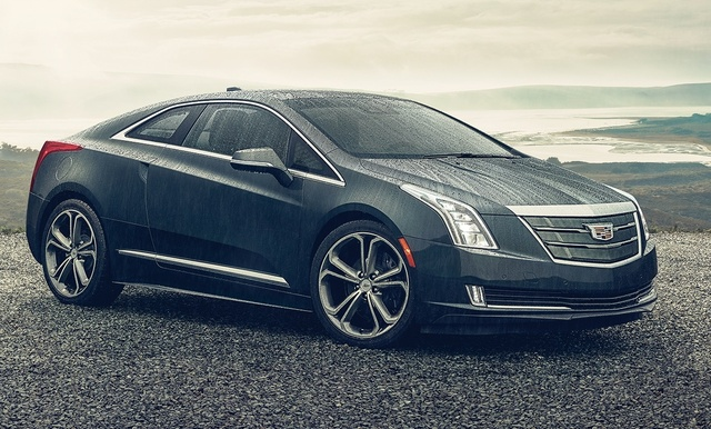 2016 Cadillac ELR, Front-quarter view. Copyright General Motors, exterior, manufacturer
