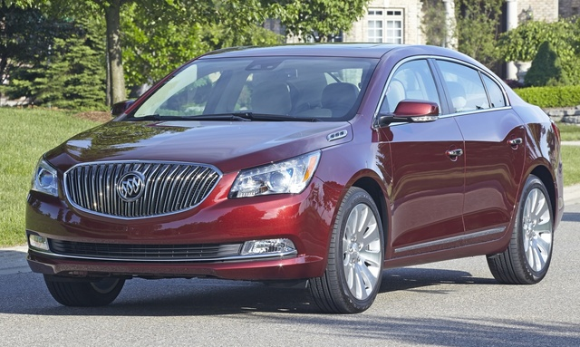 2016 Buick LaCrosse, Front-quarter view. Copyright General Motors, exterior, manufacturer