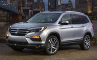 2016 Honda Pilot, Front-quarter view, exterior, manufacturer, gallery_worthy