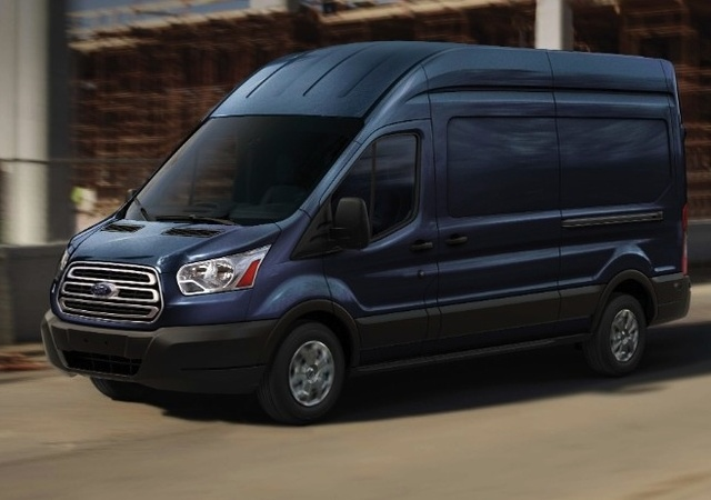 2016 Ford Transit Cargo, Front-quarter view, exterior, manufacturer