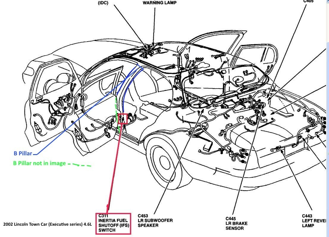 Discussion T16172 ds664887 on fuel pump inertia switch