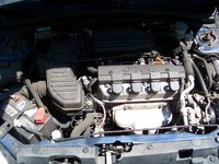 Picture of 2001 Honda Civic Coupe, engine