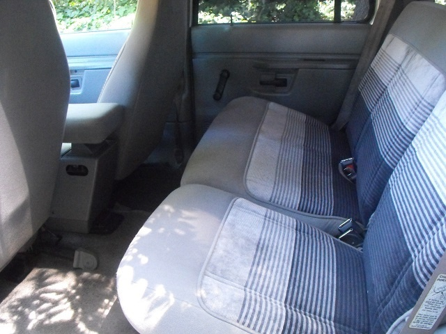 1992 Ford Explorer 4 Dr XL 4WD SUV, Interior Back, interior