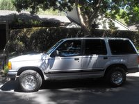 1992 Ford Explorer 4 Dr XL 4WD SUV, Full left side view, exterior