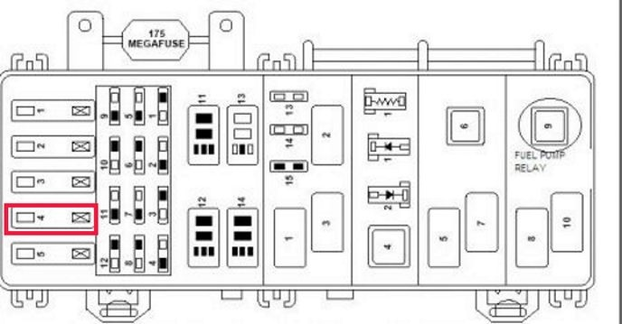 Pic X on 2000 Toyota 4runner Fuse Box Diagram