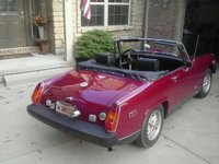 1975 MG Midget Picture Gallery