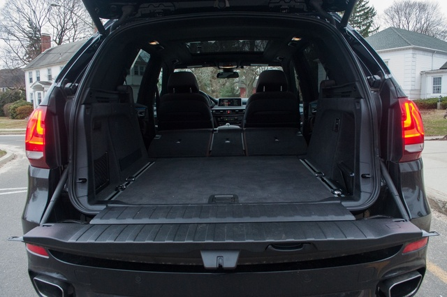 2015 BMW X5, Cargo area, with seats down, interior, gallery_worthy