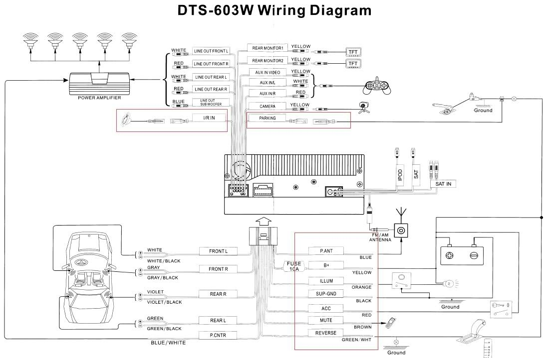 Wiring Diagram For Stock Radio Harness : Wiring diagram for silverado the