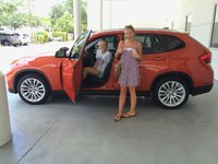 2013 BMW X1 sDrive28i, Sisters sharing their new car.  :), exterior, gallery_worthy
