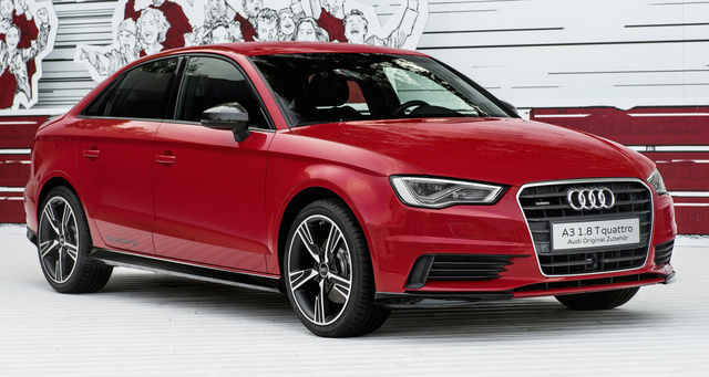 2016 Audi A3, Front-quarter view, gallery_worthy