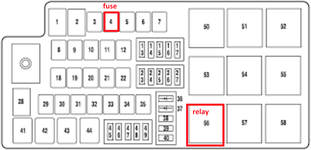 Discussion T26539 Ds666813: Fuse Box Diagram For 2011 Ford Flex At Nayabfun.com