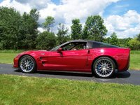 2010 Chevrolet Corvette ZR1 3ZR, Crystal Red Metallic exterior, exterior