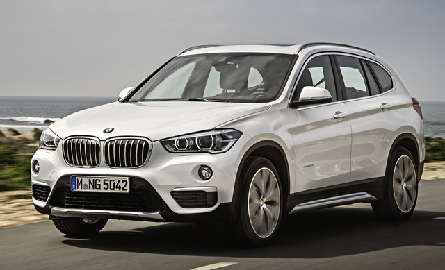 2016 BMW X1, Front-quarter view, exterior, manufacturer, gallery_worthy
