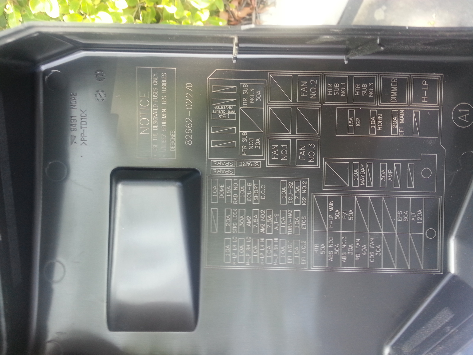 2010 Toyota Corolla Fuse Box Detailed Schematic Diagrams Questions S Speedometer Audio System