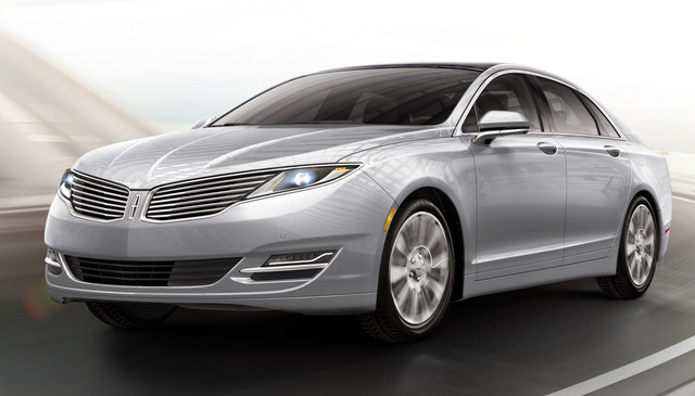 2016 Lincoln MKZ, Front-quarter view, exterior, manufacturer, gallery_worthy