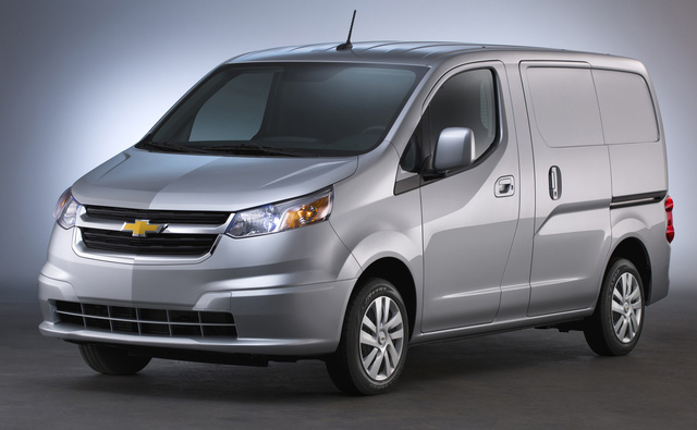 2016 Chevrolet City Express, Front-quarter view. Copyright General Motors, exterior, manufacturer, gallery_worthy