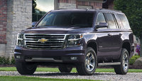 2016 Chevrolet Tahoe, Front-quarter view. Copyright General Motors, exterior, manufacturer