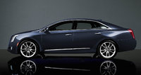 2016 Cadillac XTS, Profile view. Copyright General Motors, exterior, manufacturer
