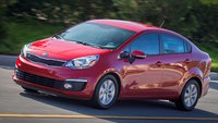 2016 Kia Rio, Front-quarter view, exterior, manufacturer, gallery_worthy