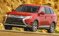 2016 Mitsubishi Outlander, Front-quarter view, exterior, manufacturer, gallery_worthy