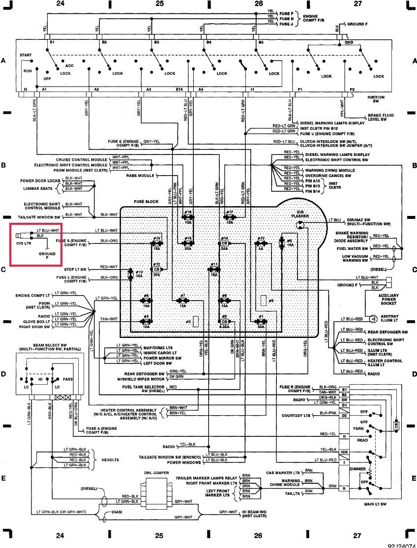 F250 Super Duty Wiring Diagram | Wiring Diagram on