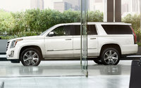 2016 Cadillac Escalade ESV, Profile view. Copyright General Motors, exterior, manufacturer