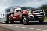 2016 Ford F-350 Super Duty, Front quarter view. 2016 F-Series Super Duty, exterior, manufacturer, gallery_worthy